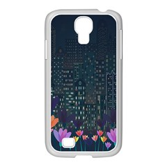 Urban Nature Samsung Galaxy S4 I9500/ I9505 Case (white) by Valentinaart