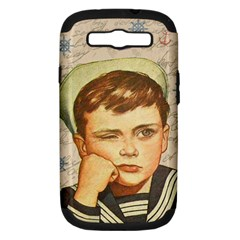 Little Sailor  Samsung Galaxy S Iii Hardshell Case (pc+silicone) by Valentinaart