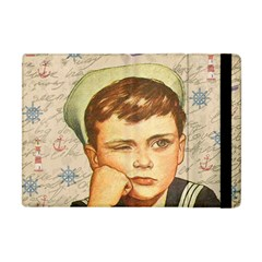 Little Sailor  Apple Ipad Mini Flip Case by Valentinaart