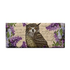 Vintage Owl And Lilac Cosmetic Storage Cases by Valentinaart