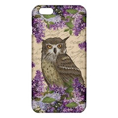 Vintage Owl And Lilac Iphone 6 Plus/6s Plus Tpu Case by Valentinaart