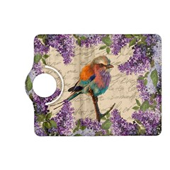 Vintage Bird And Lilac Kindle Fire Hd (2013) Flip 360 Case by Valentinaart