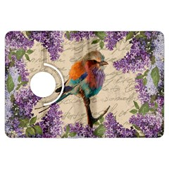 Vintage Bird And Lilac Kindle Fire Hdx Flip 360 Case