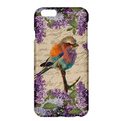 Vintage Bird And Lilac Apple Iphone 6 Plus/6s Plus Hardshell Case by Valentinaart
