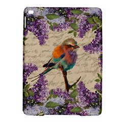 Vintage Bird And Lilac Ipad Air 2 Hardshell Cases by Valentinaart