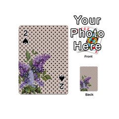Vintage Lilac Playing Cards 54 (mini)  by Valentinaart