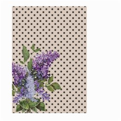 Vintage Lilac Large Garden Flag (two Sides) by Valentinaart