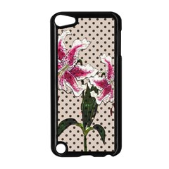 Vintage Flowers Apple Ipod Touch 5 Case (black) by Valentinaart