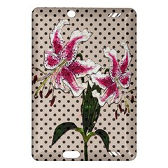 Vintage Flowers Amazon Kindle Fire Hd (2013) Hardshell Case by Valentinaart