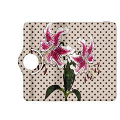 Vintage Flowers Kindle Fire Hdx 8 9  Flip 360 Case by Valentinaart