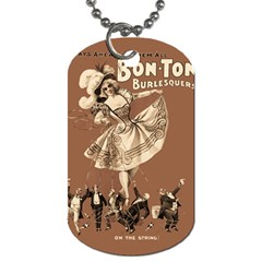 Bon Ton Dog Tag (two Sides) by Valentinaart