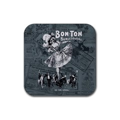 Bon Ton Rubber Coaster (square)  by Valentinaart