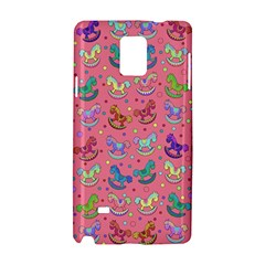 Toys Pattern Samsung Galaxy Note 4 Hardshell Case by Valentinaart