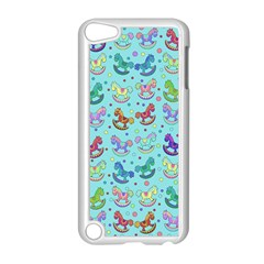 Toys Pattern Apple Ipod Touch 5 Case (white) by Valentinaart