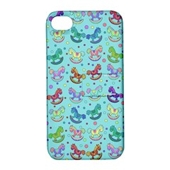 Toys Pattern Apple Iphone 4/4s Hardshell Case With Stand by Valentinaart