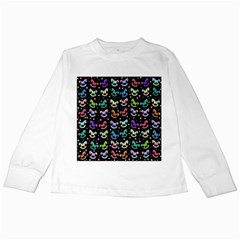 Toys Pattern Kids Long Sleeve T Shirts by Valentinaart