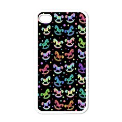 Toys Pattern Apple Iphone 4 Case (white) by Valentinaart