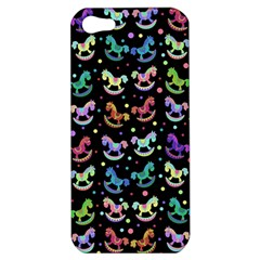 Toys Pattern Apple Iphone 5 Hardshell Case by Valentinaart