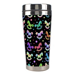 Toys Pattern Stainless Steel Travel Tumblers by Valentinaart