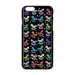 Toys pattern Apple iPhone 6/6S Black Enamel Case Front