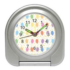 Balloon Star Rainbow Travel Alarm Clocks