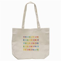 Balloon Star Rainbow Tote Bag (cream)