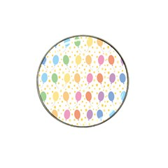 Balloon Star Rainbow Hat Clip Ball Marker (10 Pack)