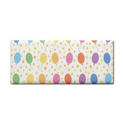 Balloon Star Rainbow Cosmetic Storage Cases by Mariart