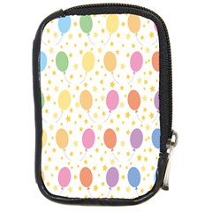 Balloon Star Rainbow Compact Camera Cases by Mariart
