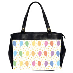 Balloon Star Rainbow Office Handbags (2 Sides)