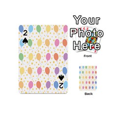 Balloon Star Rainbow Playing Cards 54 (mini)  by Mariart