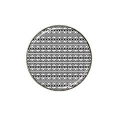 Pattern Hat Clip Ball Marker (10 Pack) by Valentinaart
