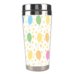 Balloon Star Rainbow Stainless Steel Travel Tumblers by Mariart