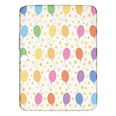 Balloon Star Rainbow Samsung Galaxy Tab 3 (10 1 ) P5200 Hardshell Case  by Mariart