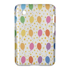 Balloon Star Rainbow Samsung Galaxy Tab 2 (7 ) P3100 Hardshell Case