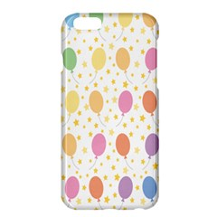 Balloon Star Rainbow Apple Iphone 6 Plus/6s Plus Hardshell Case by Mariart