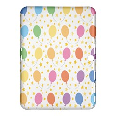 Balloon Star Rainbow Samsung Galaxy Tab 4 (10 1 ) Hardshell Case  by Mariart