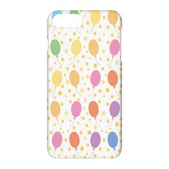 Balloon Star Rainbow Apple Iphone 7 Plus Hardshell Case by Mariart