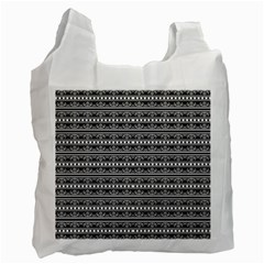 Pattern Recycle Bag (two Side)  by Valentinaart