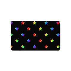 Stars Pattern Magnet (name Card) by Valentinaart