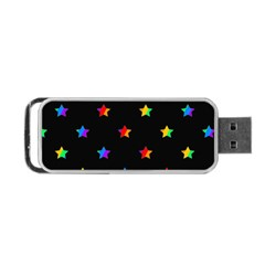 Stars Pattern Portable Usb Flash (two Sides) by Valentinaart