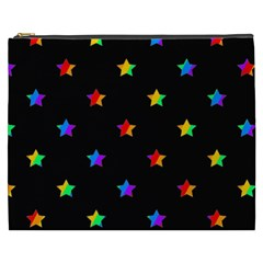 Stars Pattern Cosmetic Bag (xxxl)  by Valentinaart