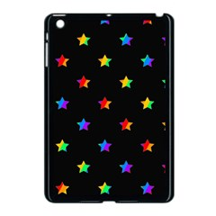 Stars Pattern Apple Ipad Mini Case (black) by Valentinaart