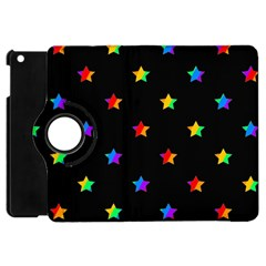 Stars Pattern Apple Ipad Mini Flip 360 Case by Valentinaart