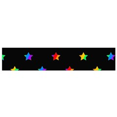 Stars Pattern Flano Scarf (small) by Valentinaart