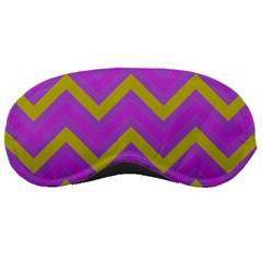 Zig Zags Pattern Sleeping Masks by Valentinaart