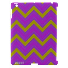Zig Zags Pattern Apple Ipad 3/4 Hardshell Case (compatible With Smart Cover) by Valentinaart