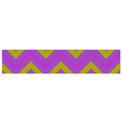 Zig Zags Pattern Flano Scarf (small) by Valentinaart