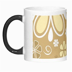 Flower Floral Star Sunflower Grey Morph Mugs by Mariart