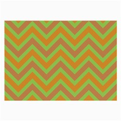 Zig Zags Pattern Large Glasses Cloth by Valentinaart